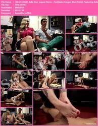 FootWorship.com [10.19.2012] Julia Ann & Logan Pierce - Forbidden Cougar Foot Fetish Featuring Julia Ann! Thumbnail
